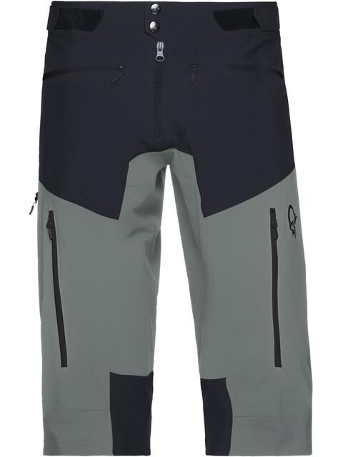Norrøna M's Fjørå Flex1 Shorts Caviar/Castor Grey